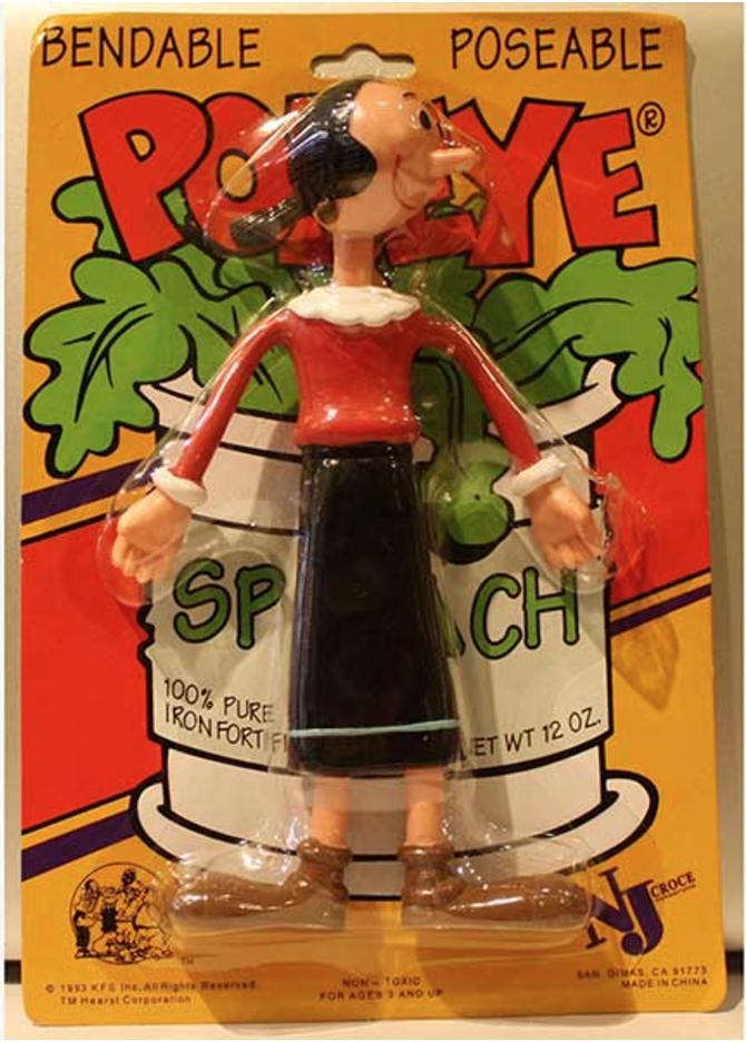 Olive Oyl Action Figure