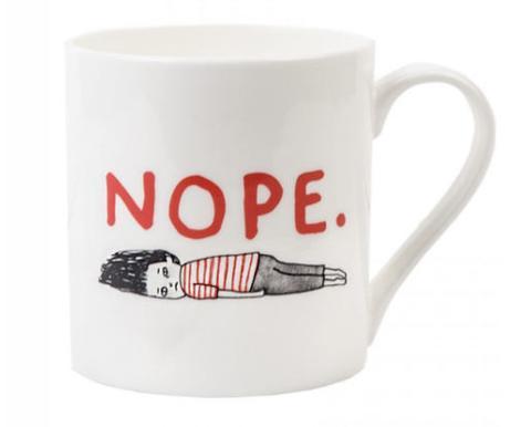 Grumpy Bert Nope Mug