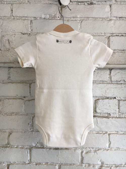 eee3fa397404 James Baldwin Organic Baby Onesie — Magdalena Concepts