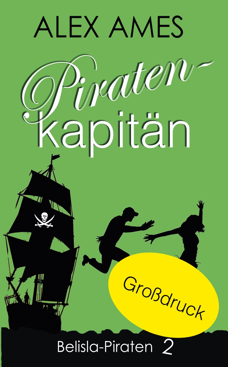 Alex Ames Piratenkapitän Grossdruck