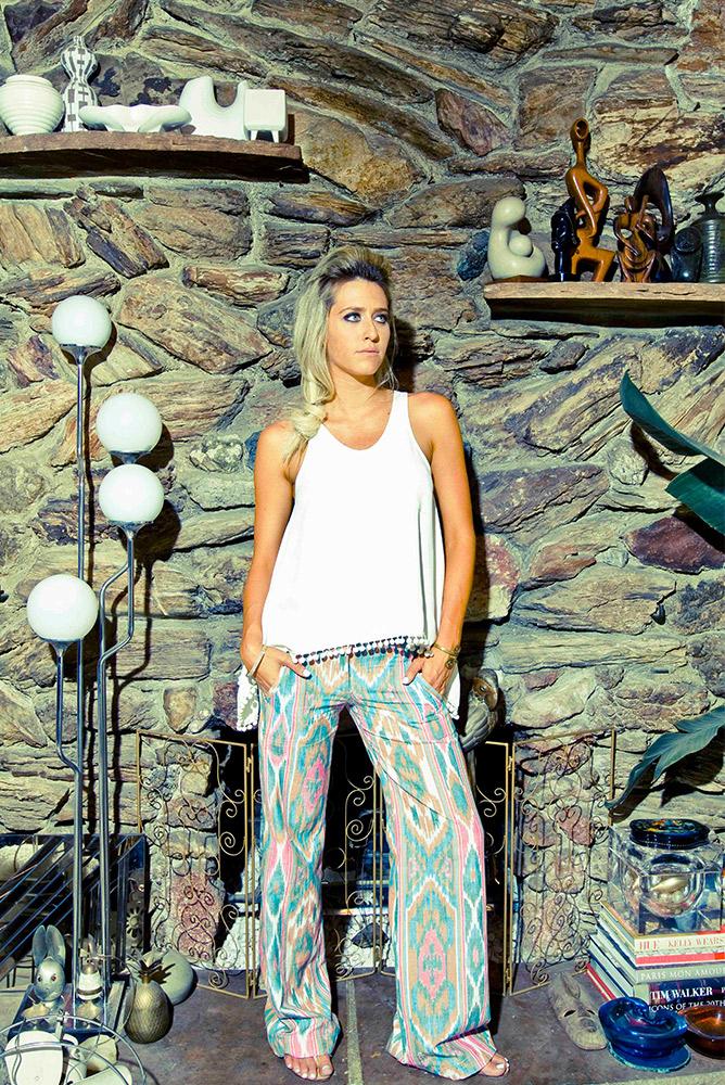 Heather Tank & Victoria Pant