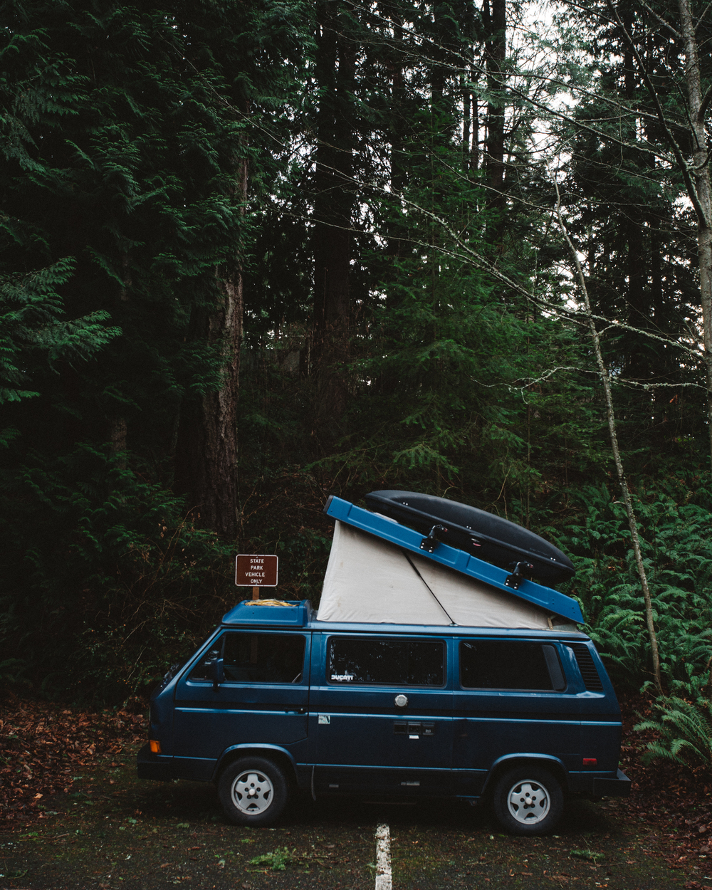 Chad's Westfalia.