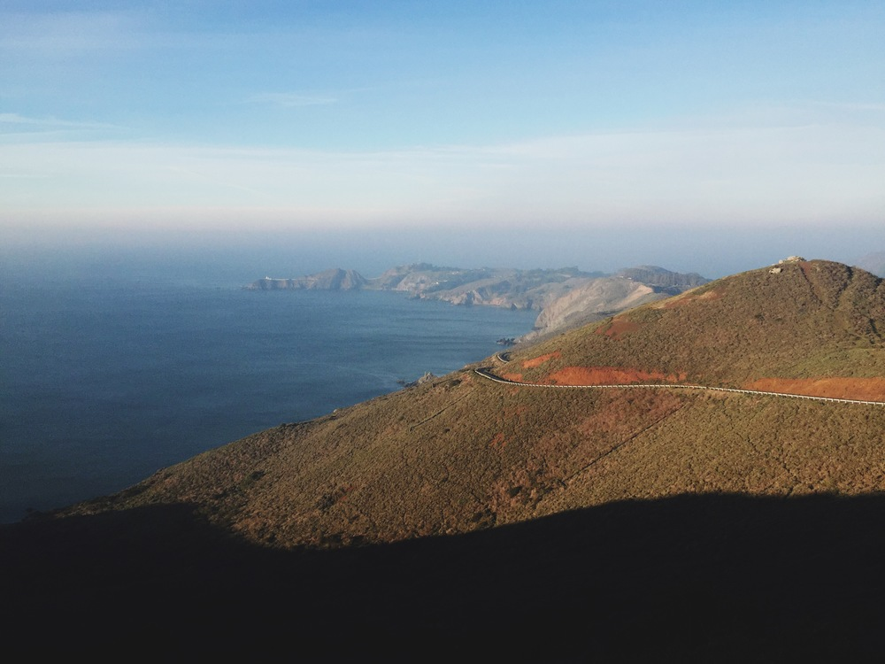 Marin Headlands.
