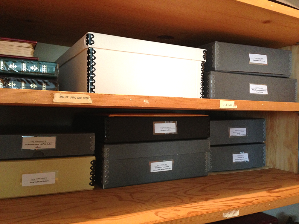 A portion of the archive in 2013