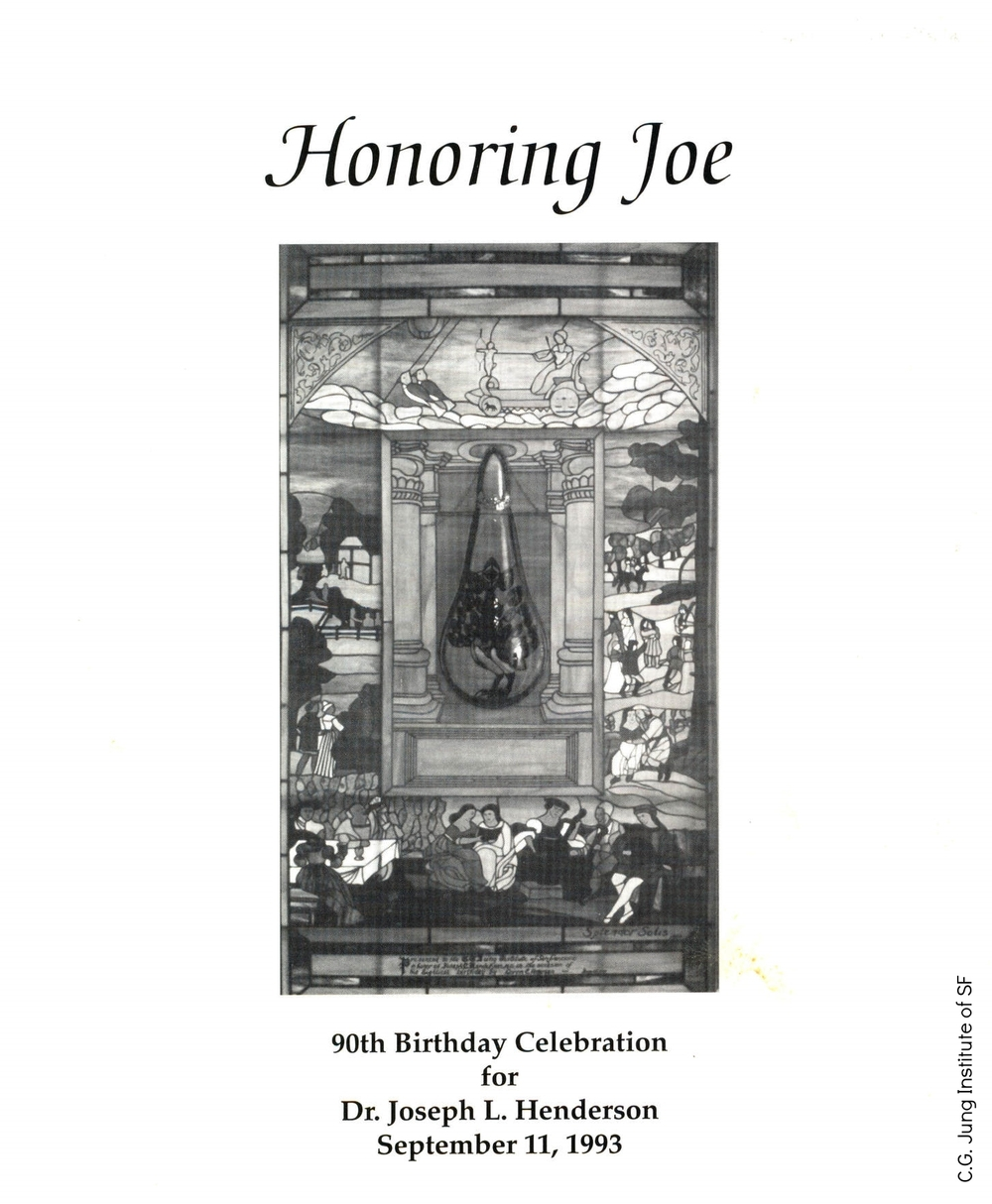 Program for Joe Henderson's 90th Birthday