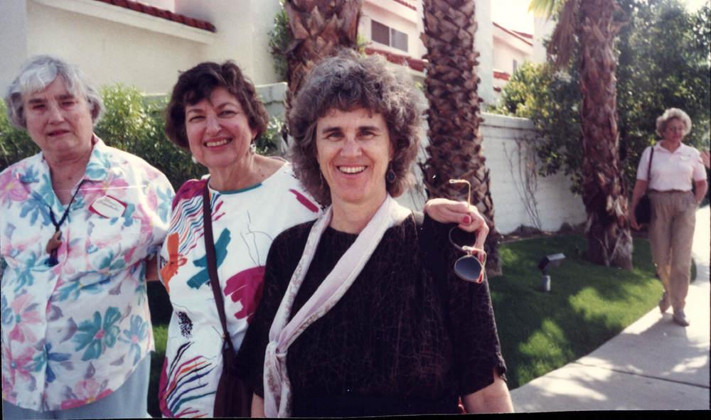 Florence Grossenbacher, June Singer, Karen Signell, 1990