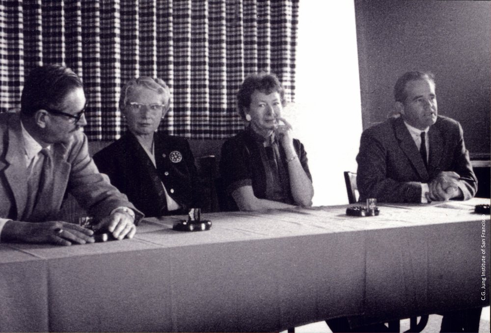 Panelists at North-South Conference, 1958