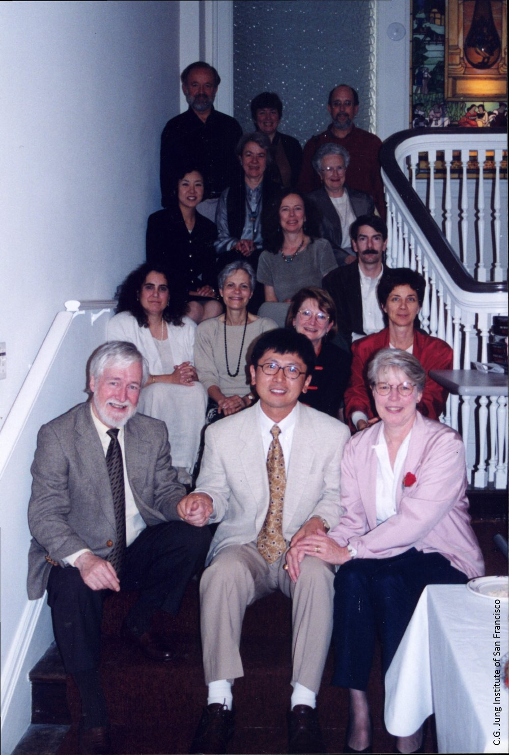 International student Chris Suh at the Institute