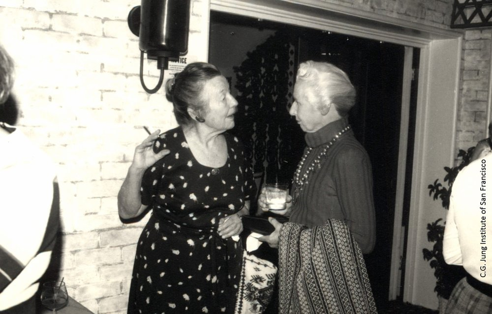 Lucille Elliott and Elizabeth Osterman