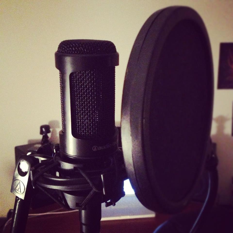 A little vocal work tonight. :)