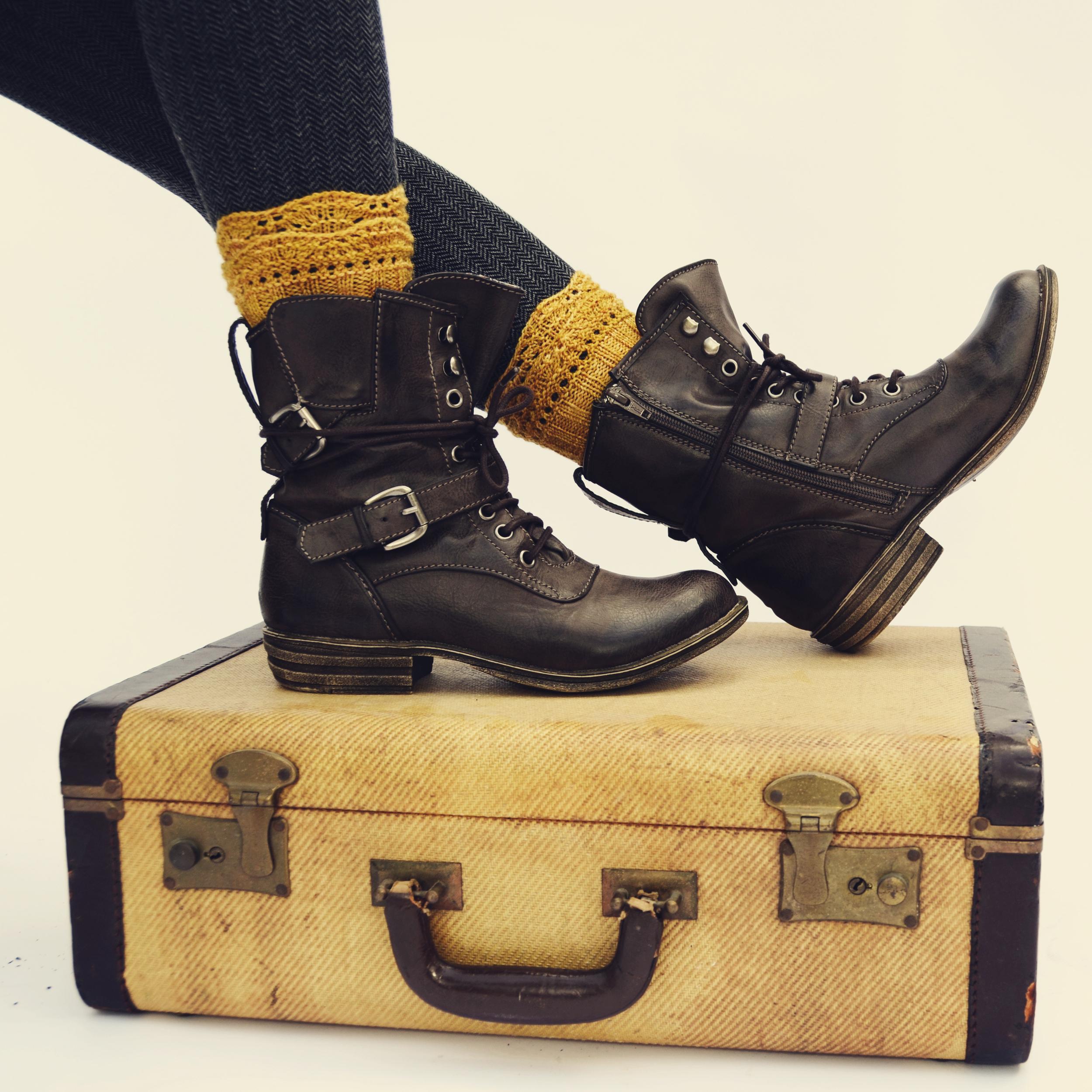 short boots...