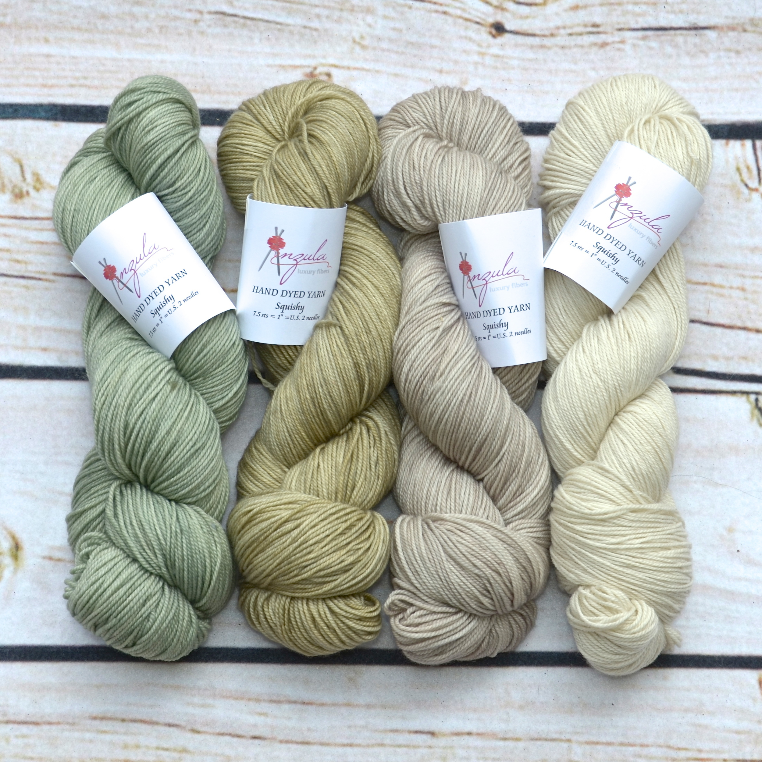 Anzula Squishy in Herb, Clay, Seaside and Natural