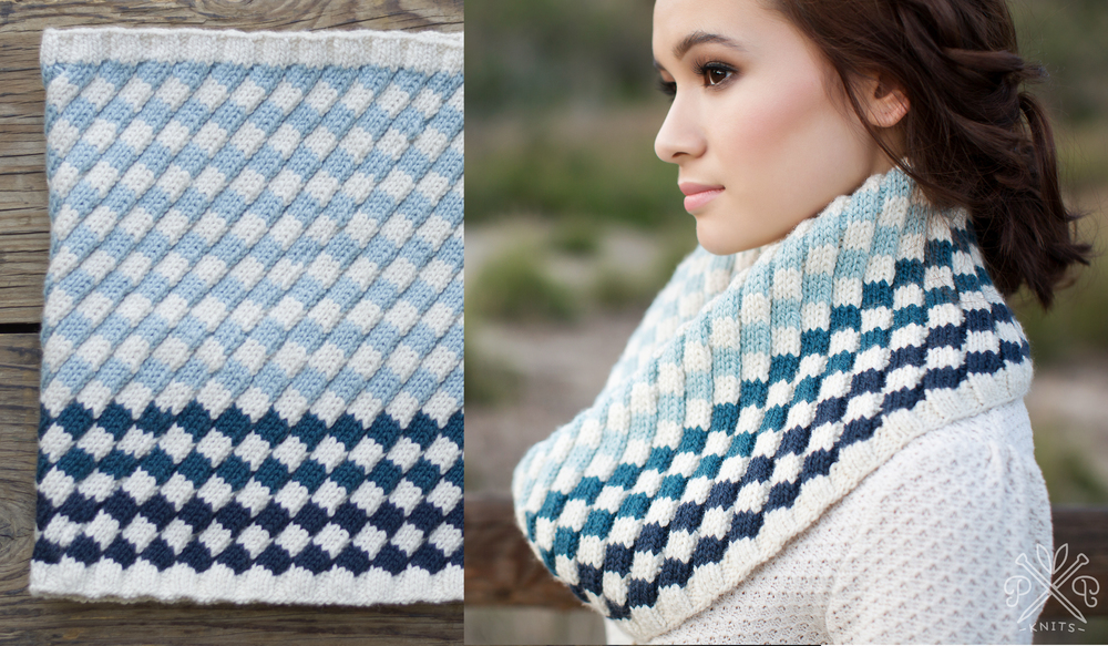 This is the book and pattern version worked in Purl Soho Worsted Twist