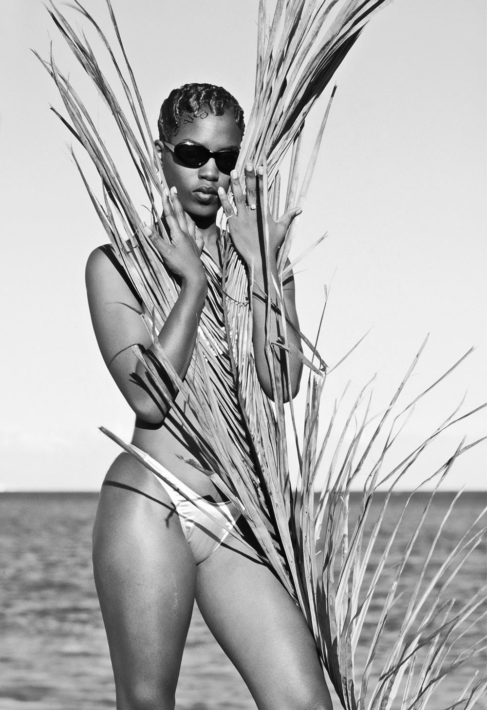 nadine beach w palm leaves bw onsware copy.jpg