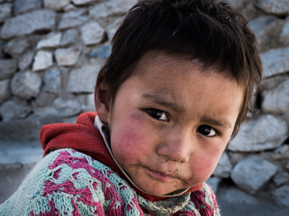 _9 Young Boy playing in the streets of Leh.jpg