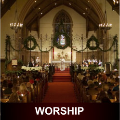 All St. Paul's worship services