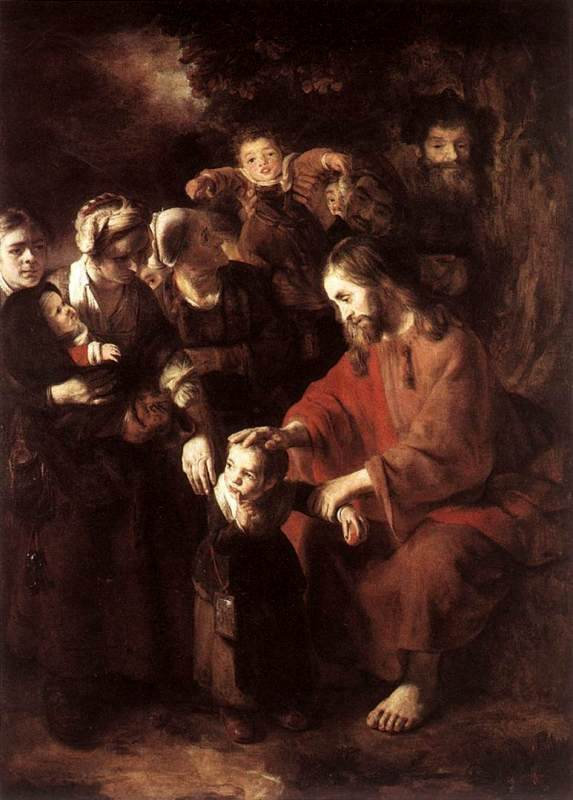 Christ Blessing the Children, Nicolas Maes, 1652-3