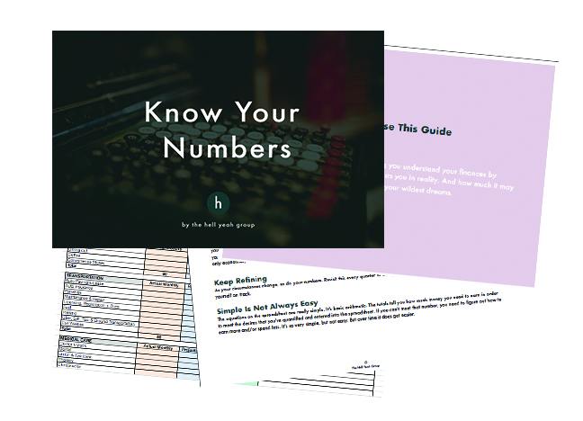 Know Your Numbers. Guide + Workbook.