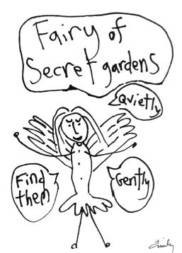 Fairy Of Secret Gardens Bluebird Fairies