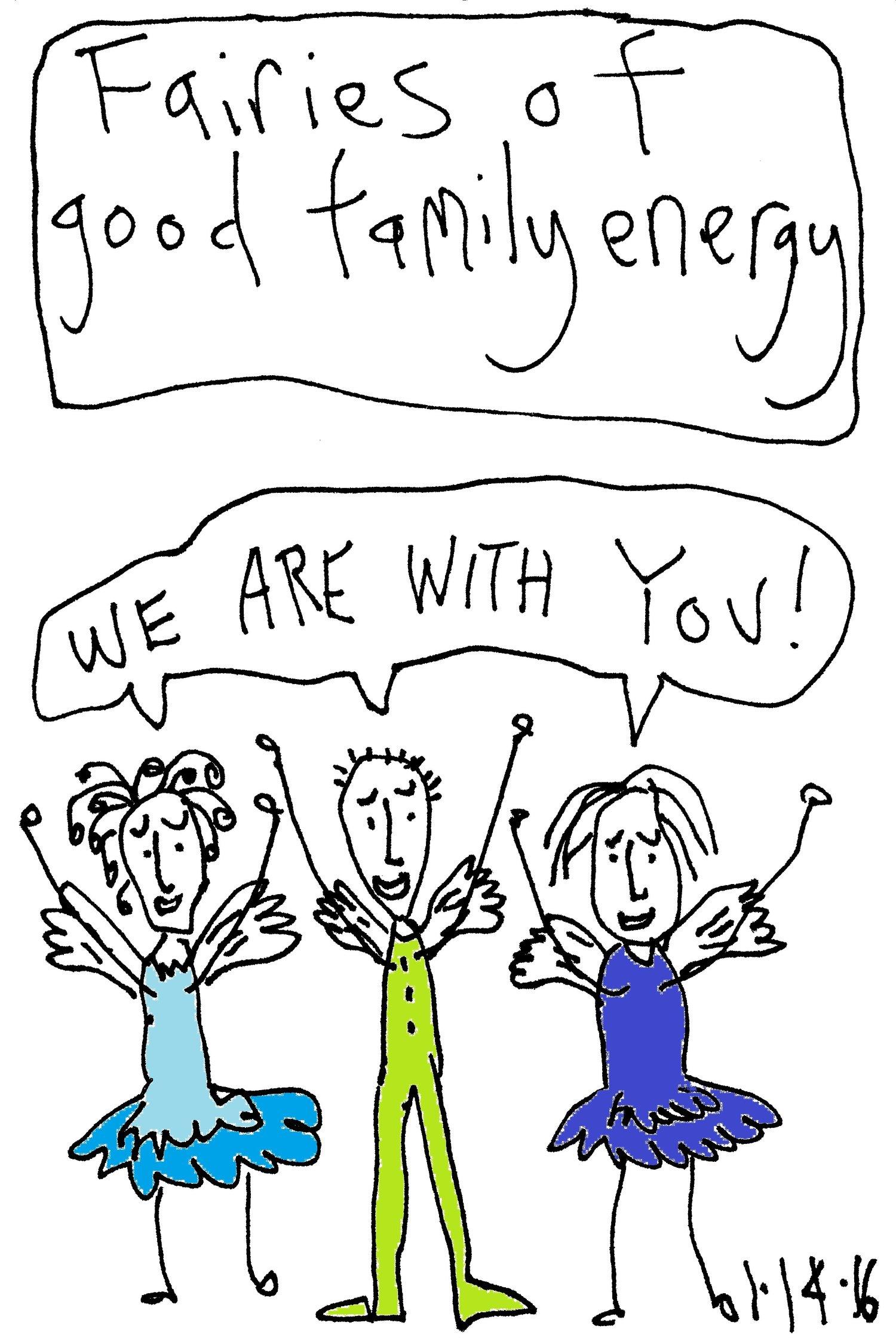 Good Family Energy — Bluebird Fairies