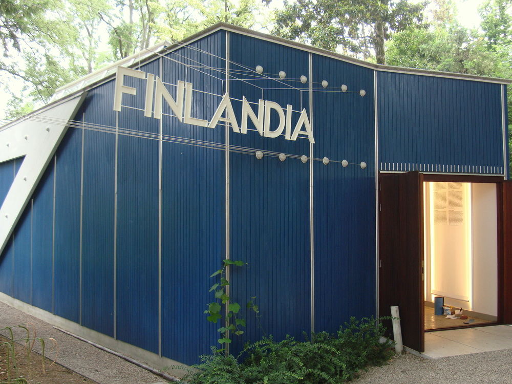 Finland, Alvar Allto Pavilion   14th International Architecture Exhibition