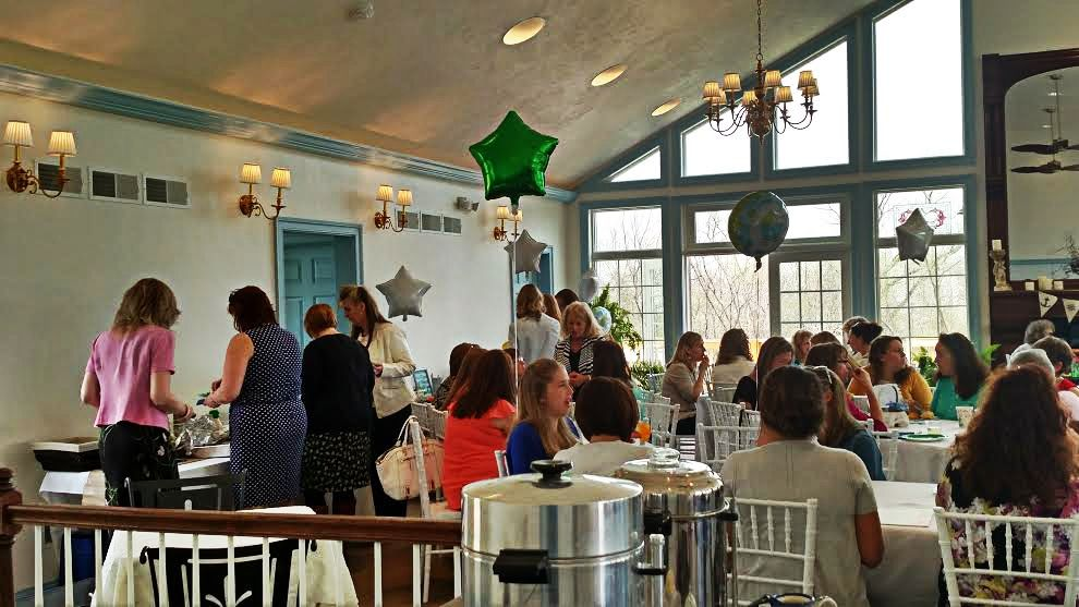 Copy of Baby shower inside the Solarium event venue at Battlefield Bed and Breakfast Inn