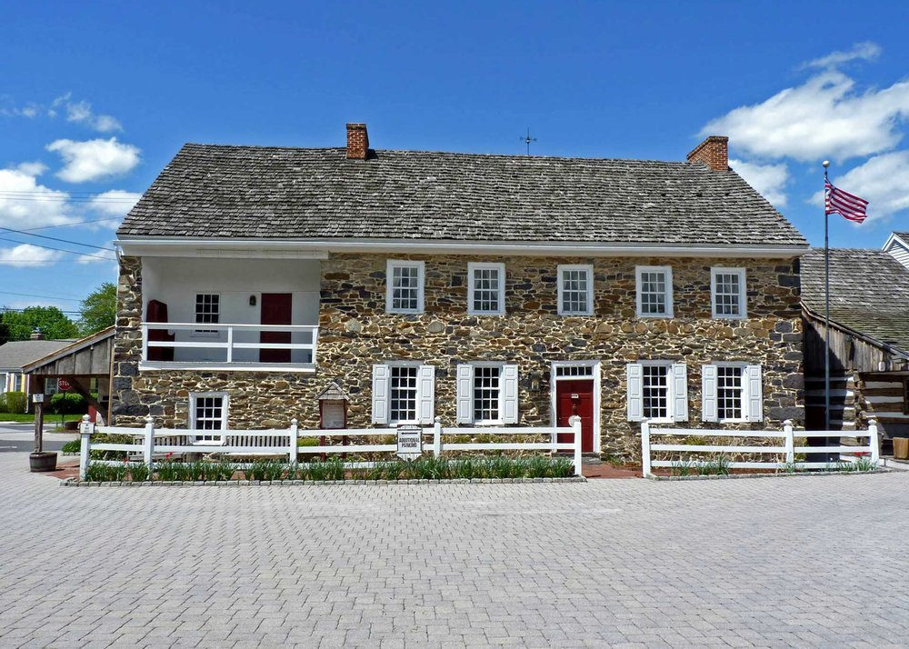 At a Local Fine Dining Restaurant - Gettysburg has many romantic fine dining restaurants to choose from. We recommend the Dobbin House (pictured above), The Inn at Herr Ridge, and Sidney Willoughby Run.