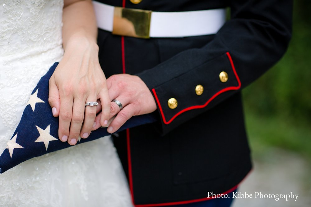 10% Active Duty Military Discount - We offer 10% off all of our Wedding Packages Sunday through Thursday for Active Duty Service Members.