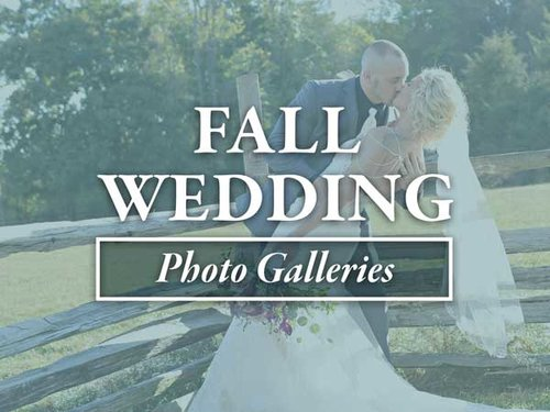 Fall Wedding Galleries