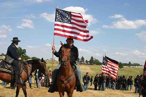Annual Gettysburg Civil War Battle Reenactment | Battlefield