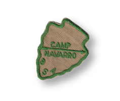 Camp Navarro vintage patch