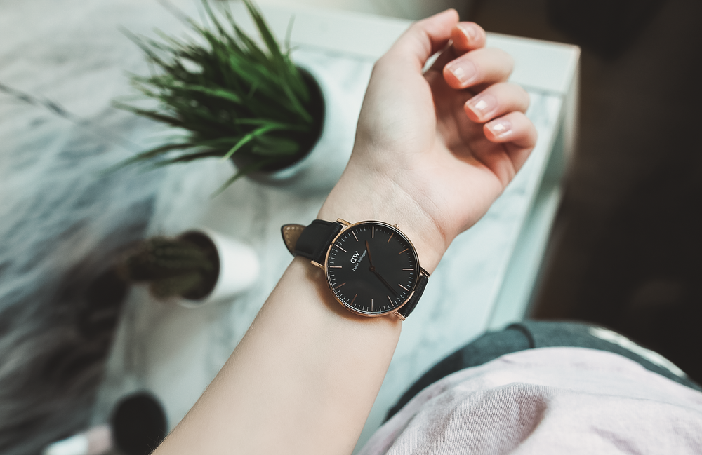 daniel wellington rosegold women
