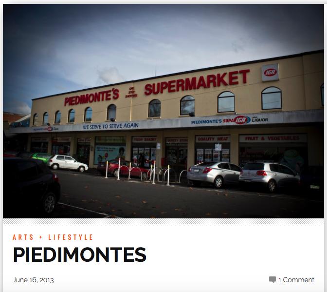 NORTHSIDER NEWSPAPER 2013    http://thenorthsider.com.au/piedimontes/