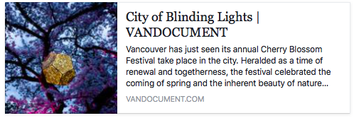 VANDOCUMENT 2017                                        http://vandocument.com/2017/05/city-of-blinding-lights/