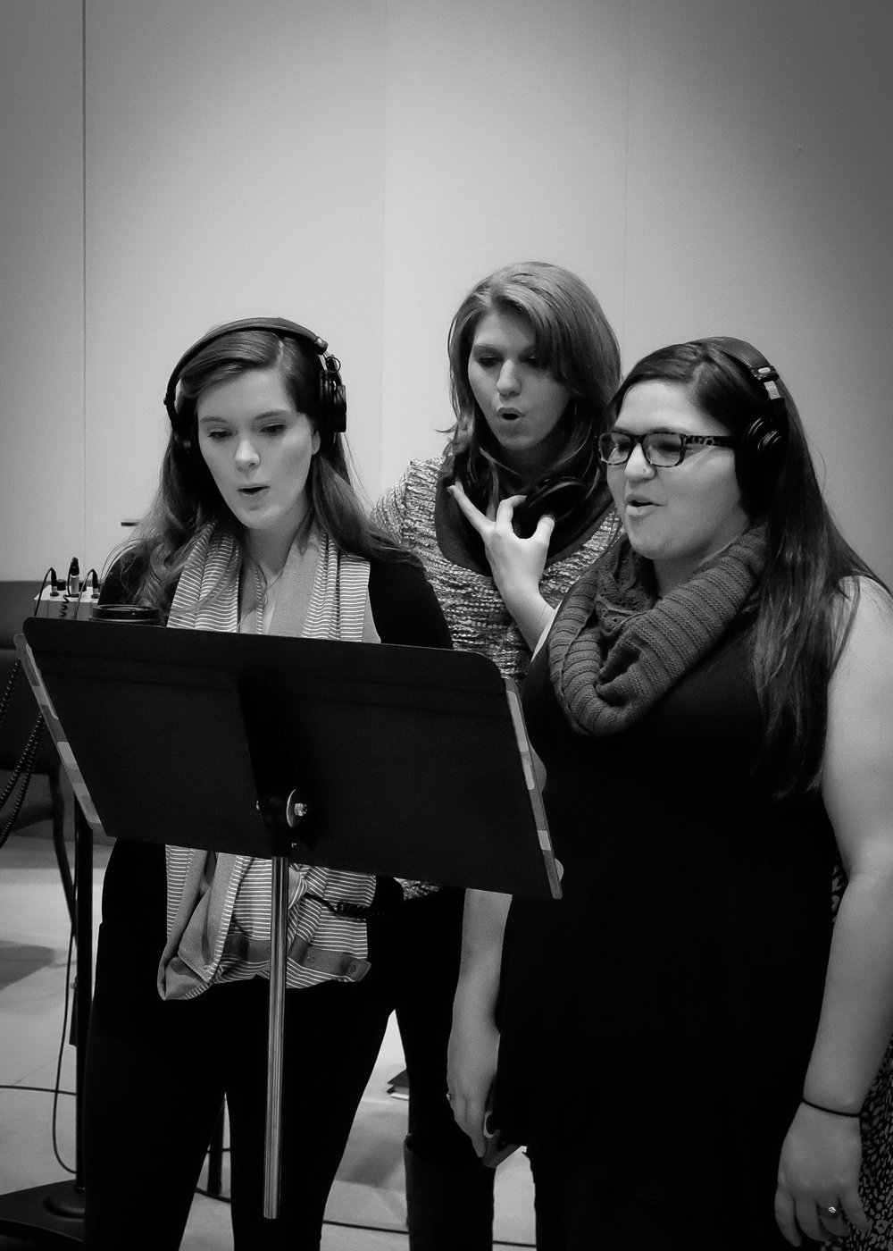 Recording a Studio Album of  Music Is  at Western Carolina University.