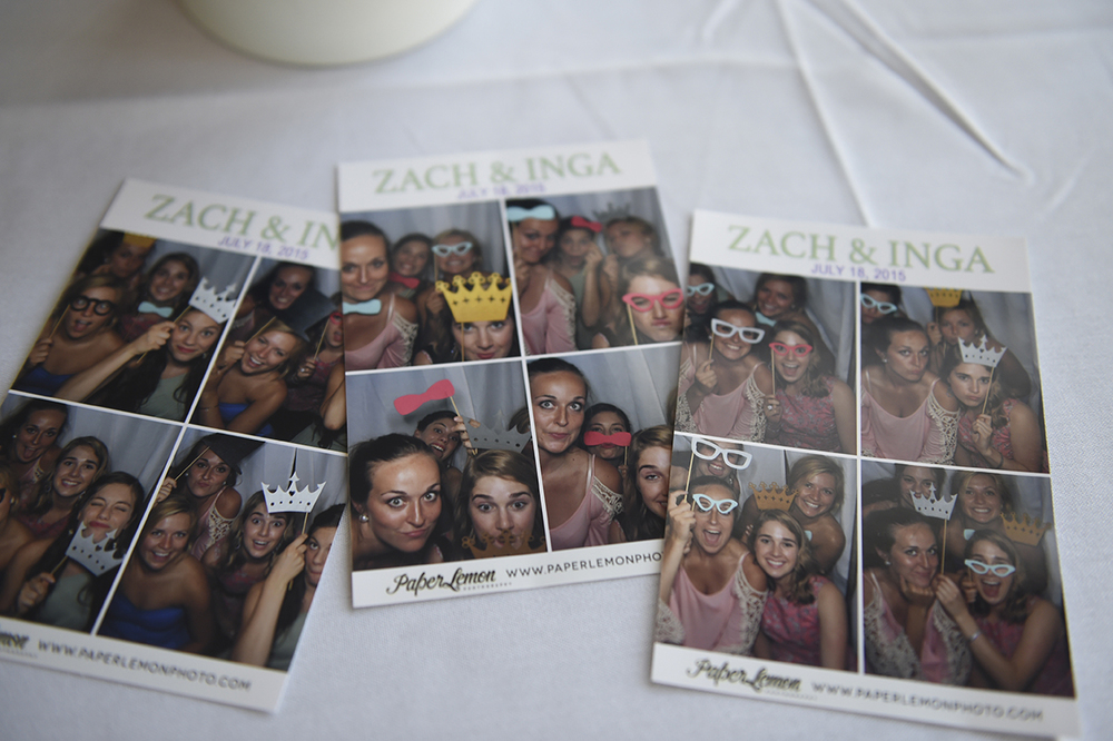 This option includes one print for each group that uses the booth and digital copies of all images for the bride & groom.