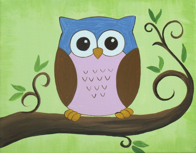 Click on the link to visit the artist's store on Etsy!     https://www.etsy.com/listing/105359313/cute-little-owl-sitting-in-tree