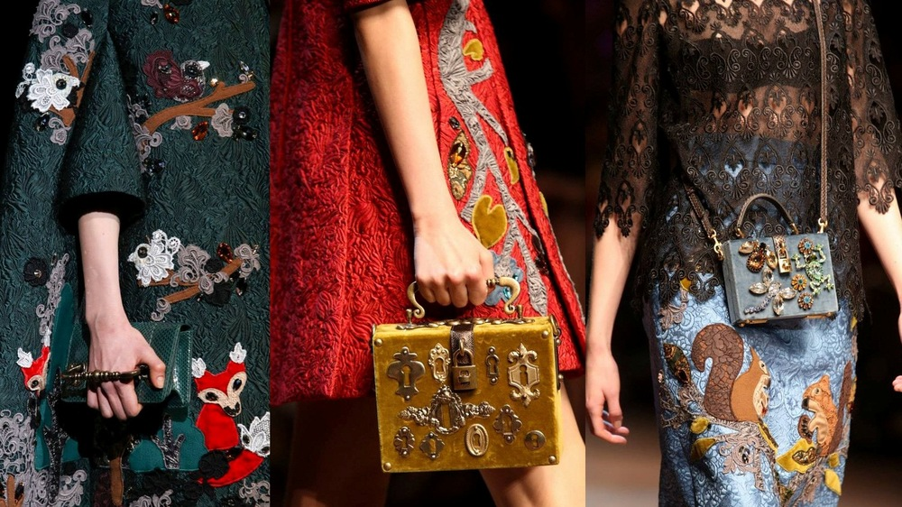 Dolce and Gabbana Winter 14/15 Runway Show, Ange can't stop talking about it...so go take a peek  here