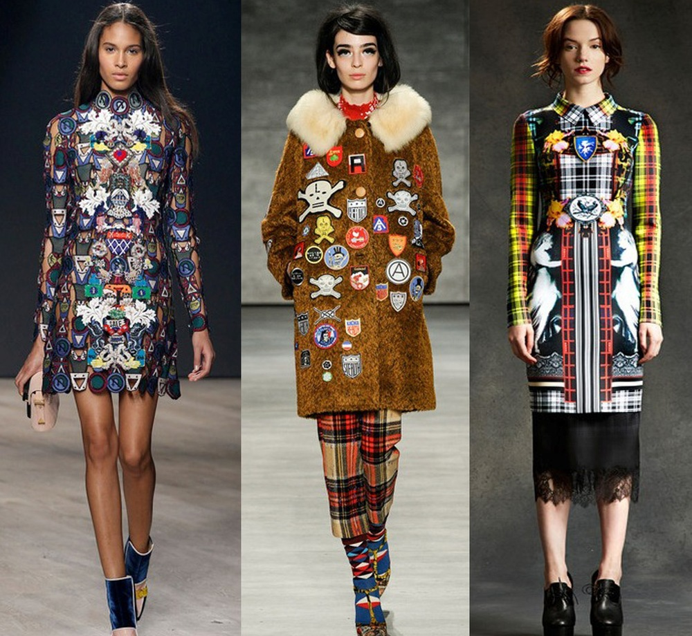 Runway Looks from Mary Katrantzou, Libertine, Clover Canyon