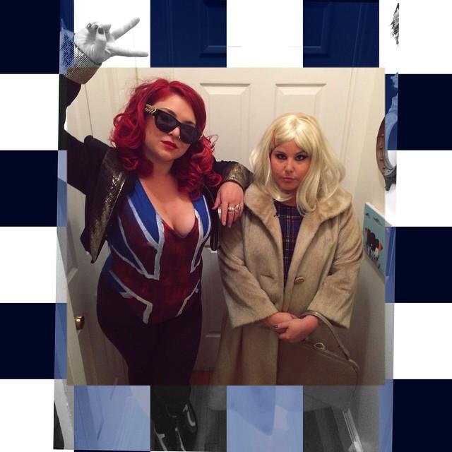 Ginger Spice & Margot Tenenbaum walked into a Brooklyn Bar...