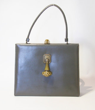The antique hardware on this bag is so unique. Pair this bag with a sophisticated pencil skirt and vintage pumps.