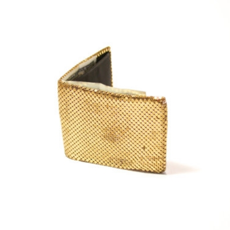 $23  Blind 'Em with this vintage metal mesh wallet.