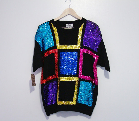 Sequin Sally Sweater  $30
