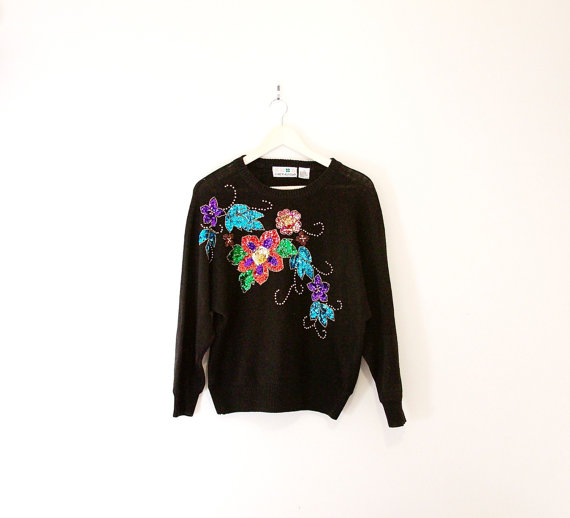 Grandma Terry Sweater   $35