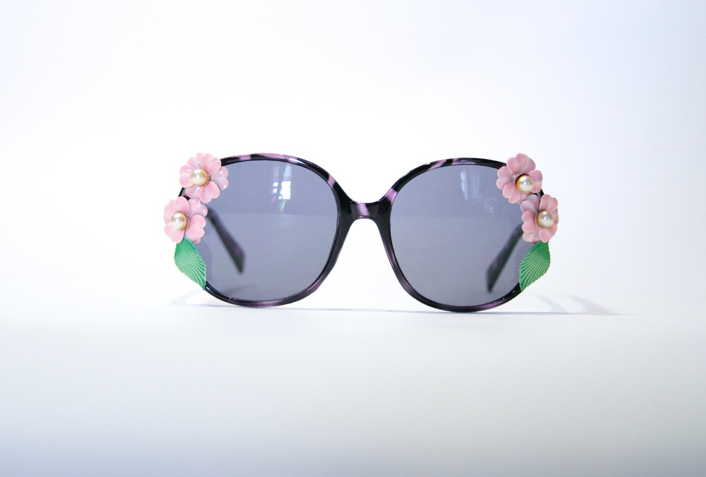 Floral of Pearl Sunglasses   $34
