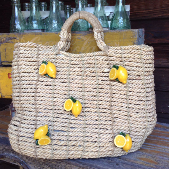 When Life Gives You Lemons Tote   $32