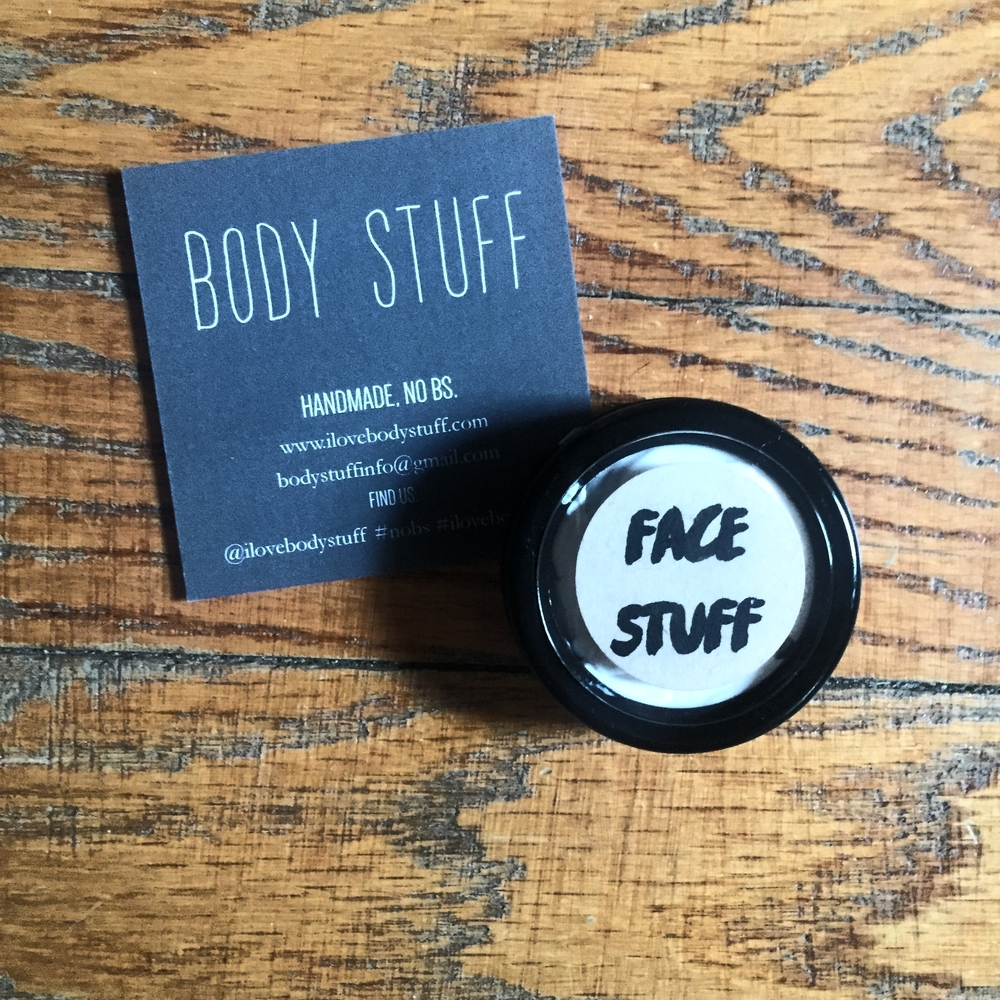 This all natural face moisturizer  from Body Stuff literally made us throw our old one out.