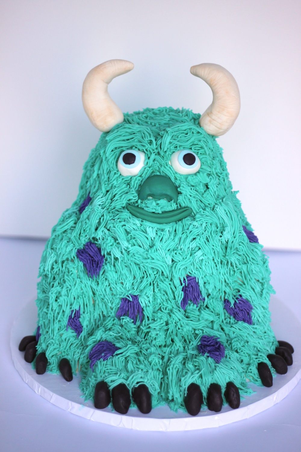 Sully Cake Monsters Inc Village CakeCraft