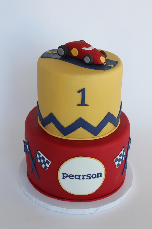 vintage racecar cake.JPG