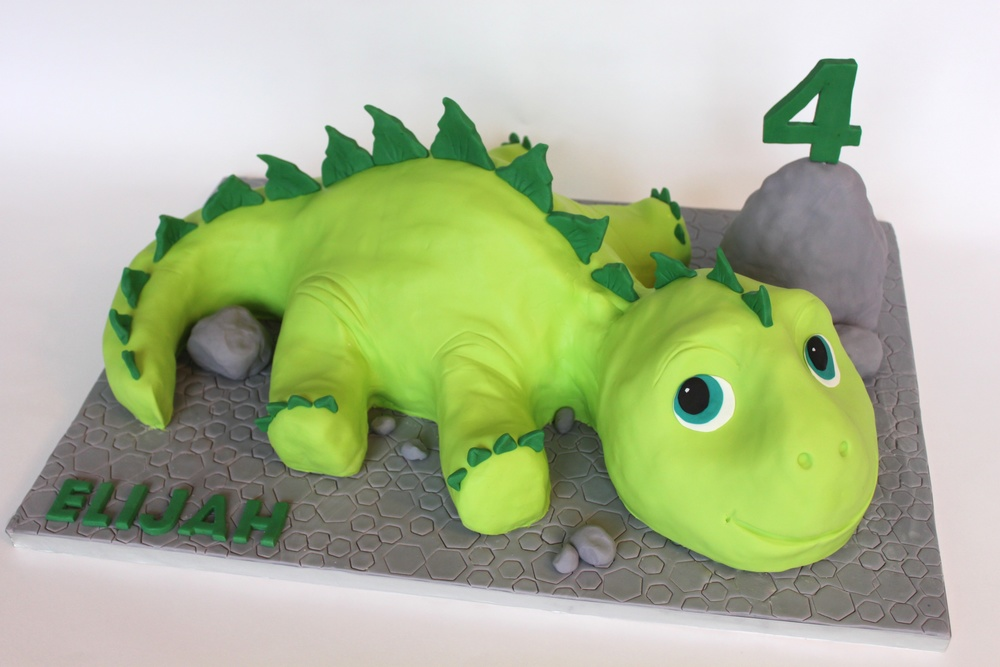 Dinosaur Kids Cake Village Cakecraft